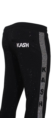 Kash Diamond Pants-Black