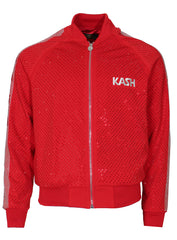 Kash Diamond Jacket-Red