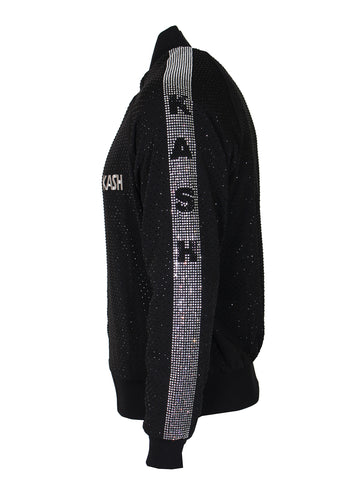 Kash Diamond Jacket-Black