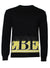Men's Logo Sweater-Black