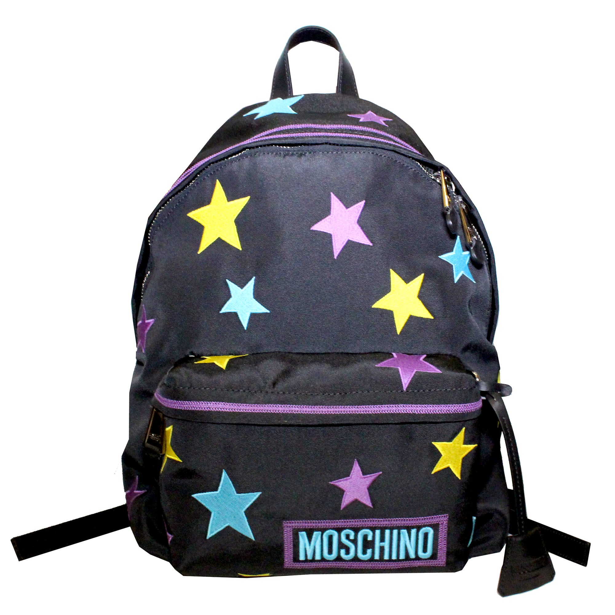 Stars Embroidered Backpack