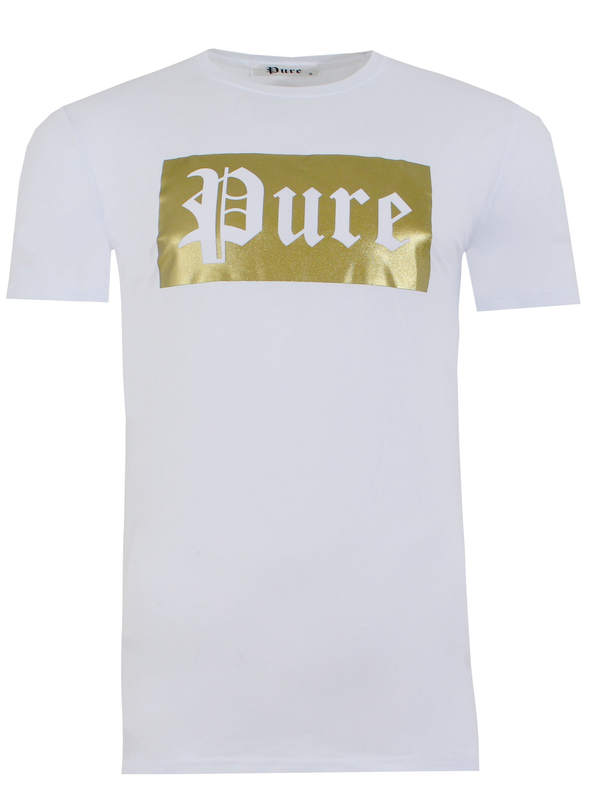 New 2021 Stretch Pure Tee with Block Logo