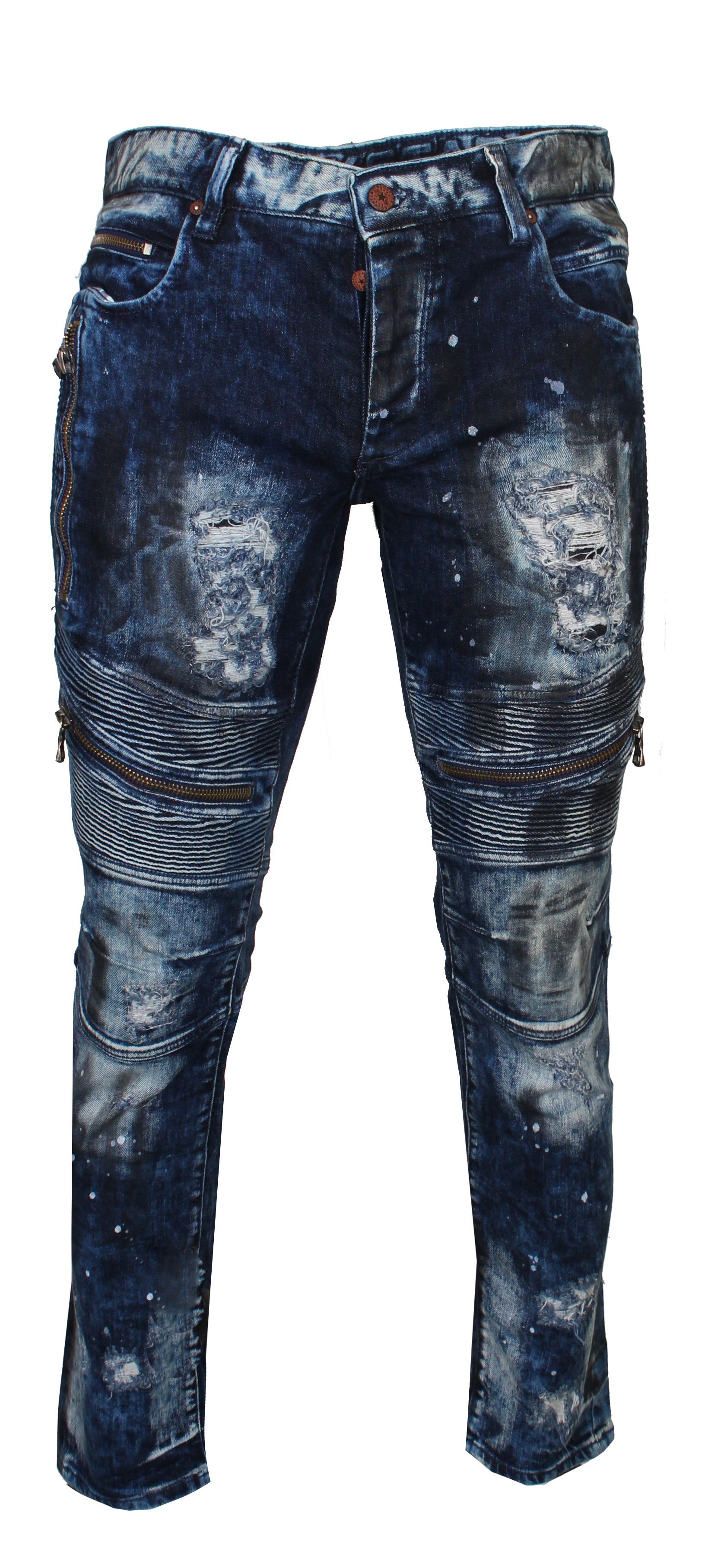 Xavier Biker Denim