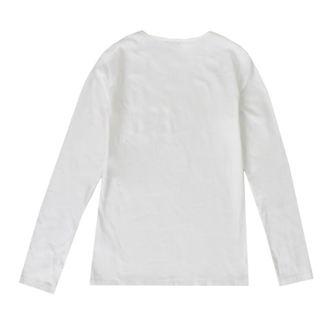 Girls Long Sleeve Eyes Logo Tee