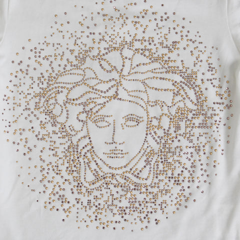 Girls Large Medusa Stone Logo