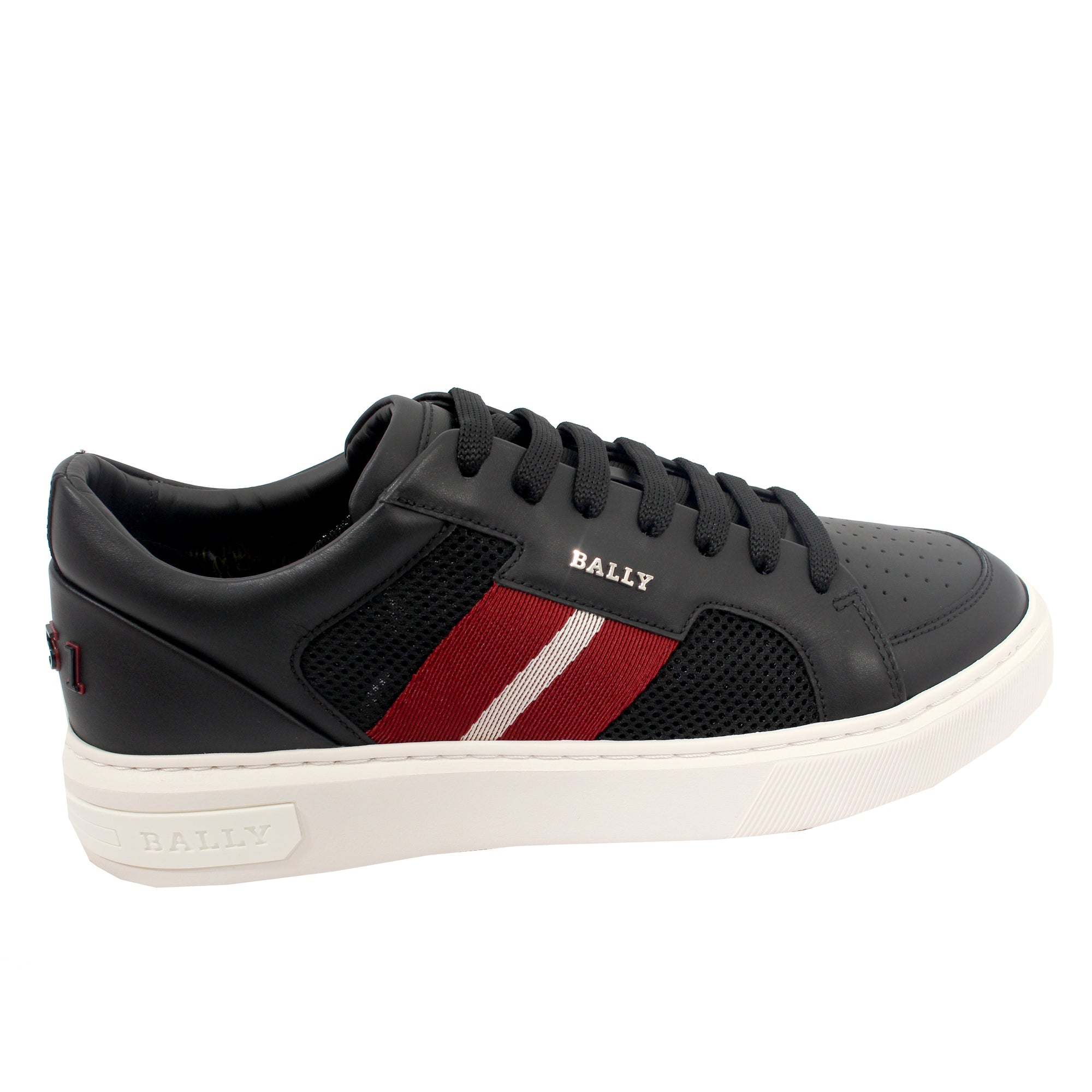 Mely's-T/00 Leather Sneakers in Black