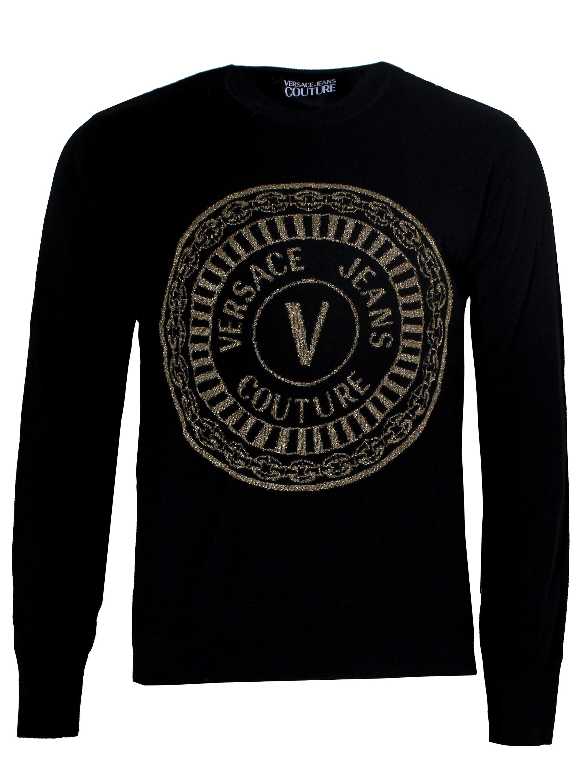 Round Gold Logo Sweater