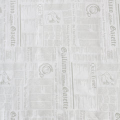 John Galliano Print Baby Blanket