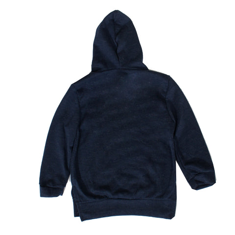 Kids Haus of Jr. Hunter Long Sleeve Hoodie-Navy