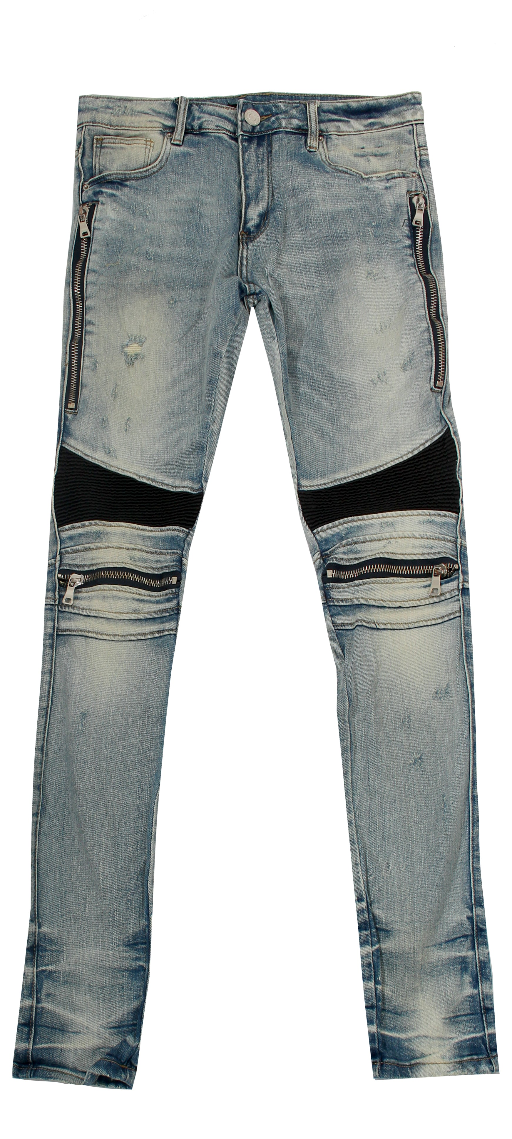Blue Moto Denim