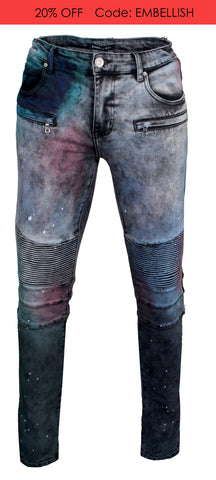 Men's Brees Biker Denim