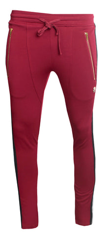KASH Track Pants | Burgundy
