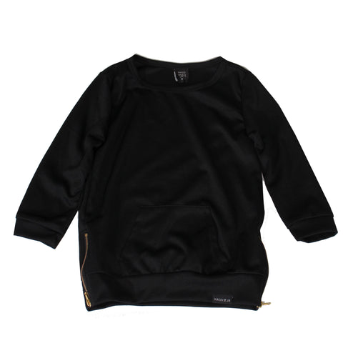 Haus of Jr. Kids Tren Long Sleeve Size Zip Top
