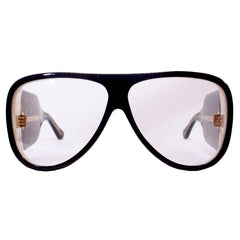 Gucci Wood Frame with Clear Lens