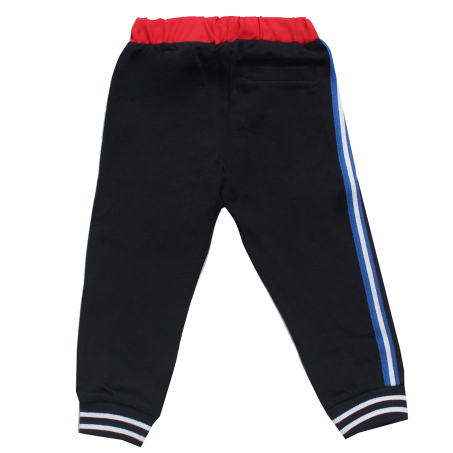 Iceberg | Boys Sweatpants W/Logo and Stripe Detail