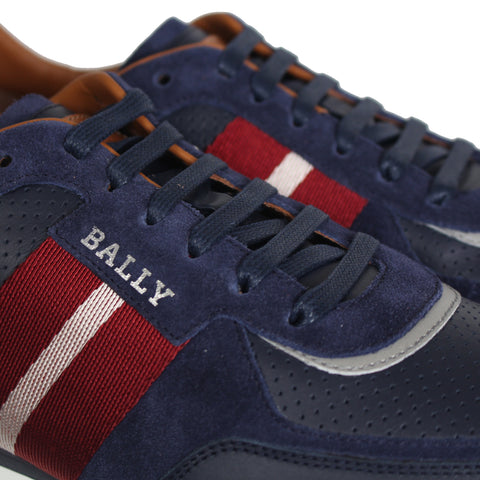Bally Aston New Fo WS/26 Sneaker in Ink 15 Calf Suede