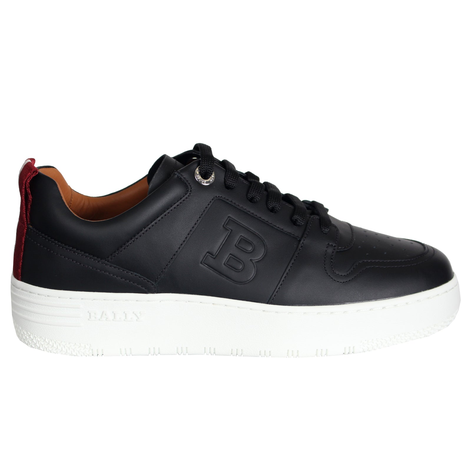 Bally Odino/00 Black Calf Plain Sneaker