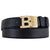 B Gold Buckle Belt