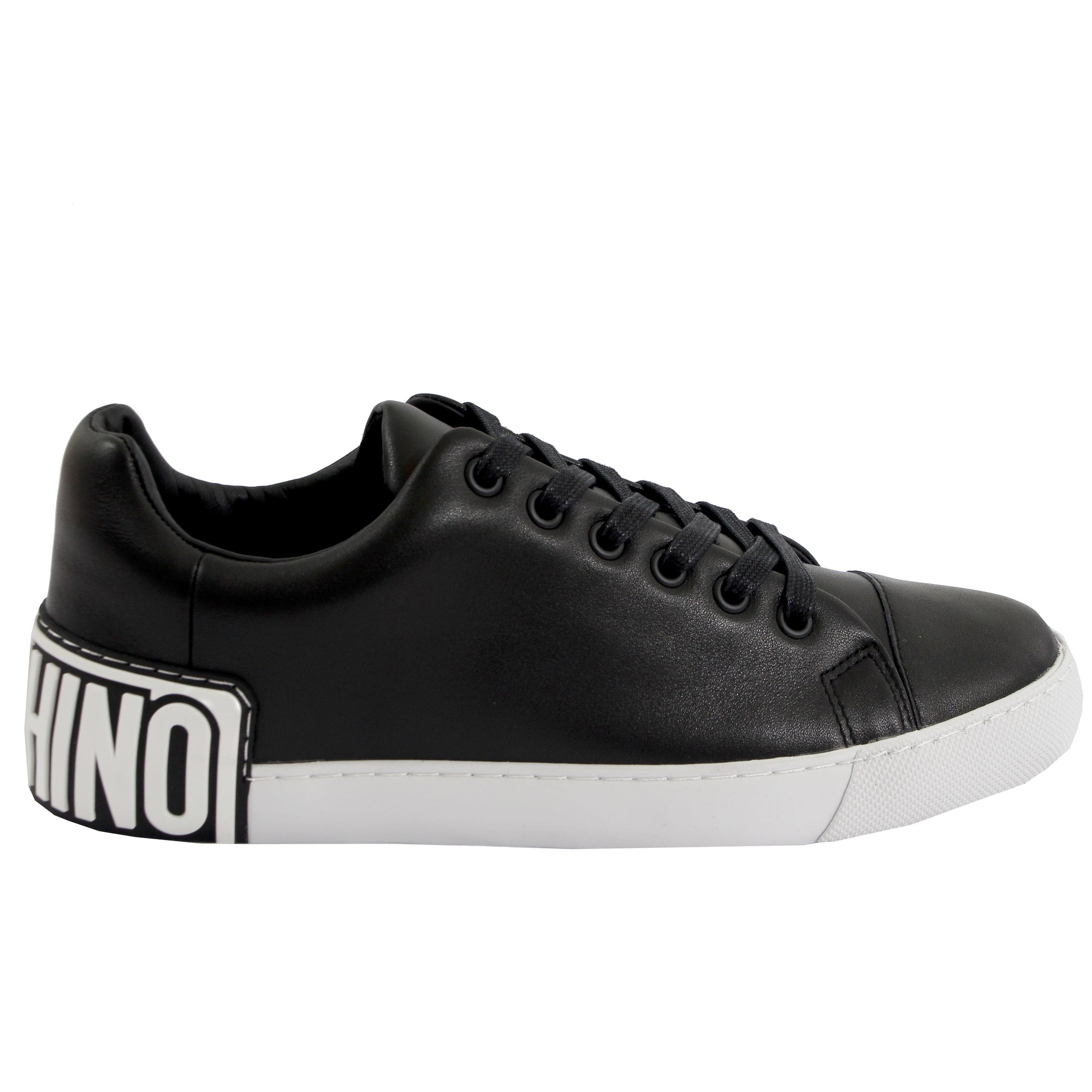 Moschino Logo Sneakers - Black