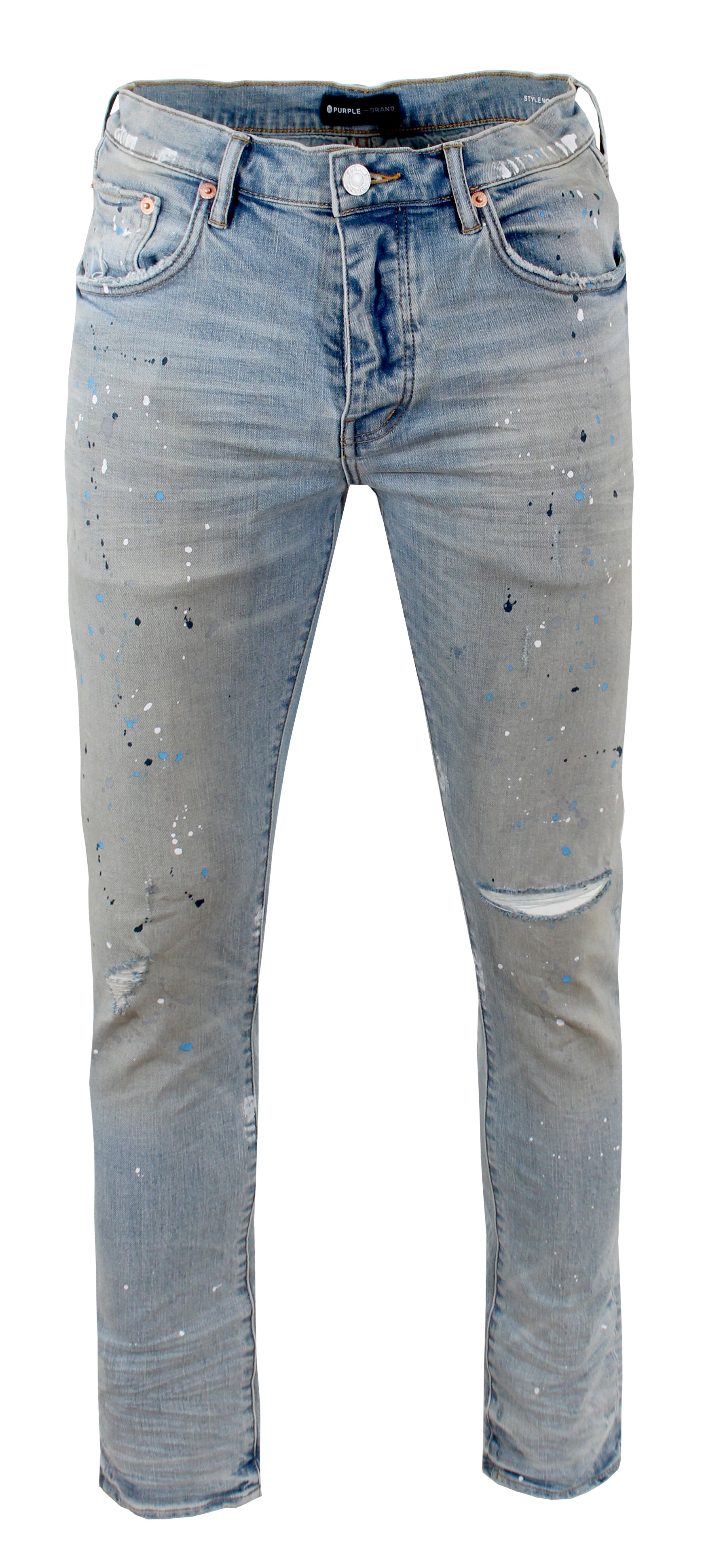 Light Indigo Painter Denim