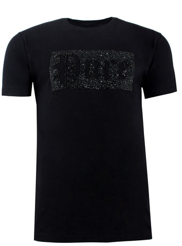 Pure Logo Crushed Diamond Tee Shirt