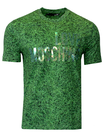Grass Holographic Logo Tee