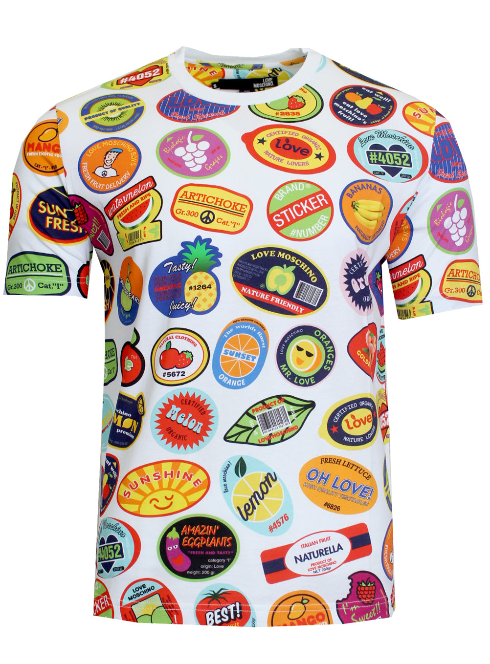 Love Moschino Stickers Tee