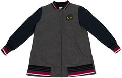 Fendi Girls Monster Grey Jacket