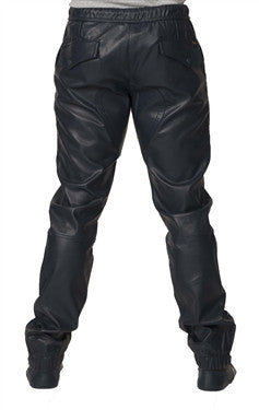 Kite Full Leatherette Pants - Navy
