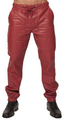 Kite Full Leatherette Pants - Charcoal