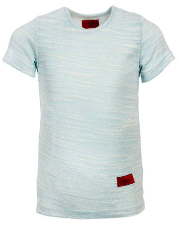 Mark Hi/Lo Tee | Sky Blue