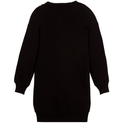 Girls L/S Logo Dress