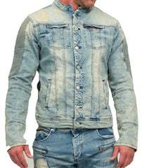 RockStar Gigi Light Wash Denim Jacket