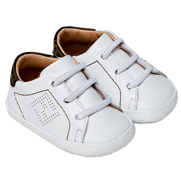 Baby Crib Shoes Sneakers with Logo
