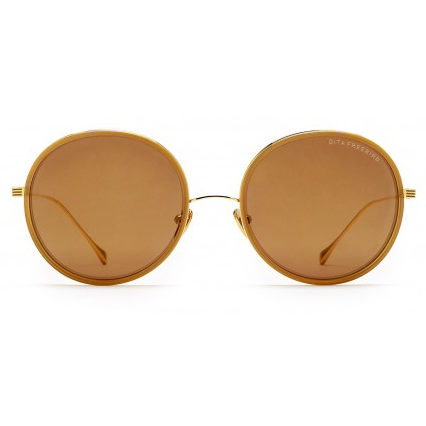 DITA FREEBIRD// 21012 BROWN/YELLOW GOLD