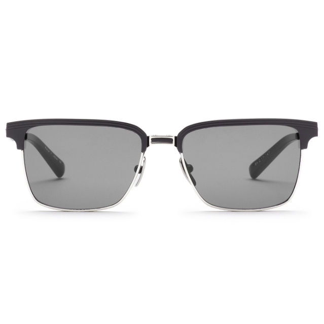 DITA ARISTOCRAT//MATTE BLACK-SHINY SILVER W/DARK GREY-AR