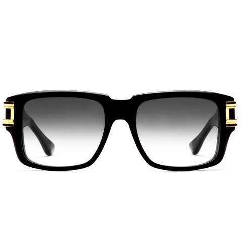 DITA Grandmaster Two | Matte Black Swirl 18K Gold / D.Grey Grad