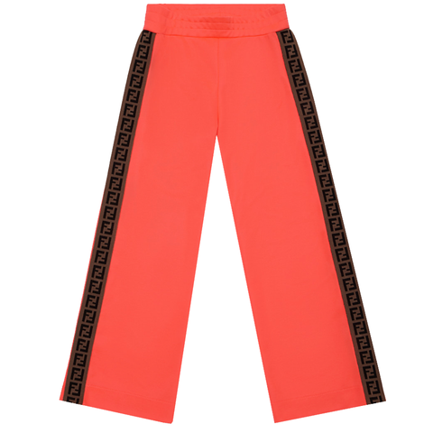 Fendi Girls Snap Track Pants