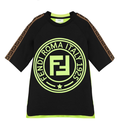 Fendi | Boys T-shirt W/Logo Trim