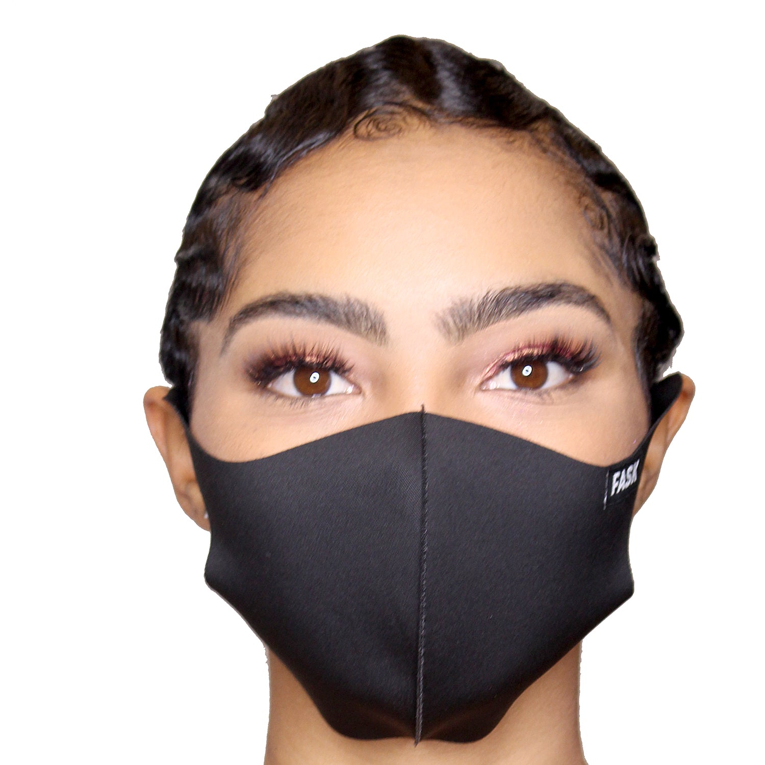 FASK Full Armour Silk Stretch Clean Mask with Interchangeable Filter-Black