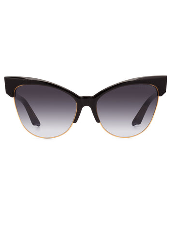 DITA TEMPTATION 22029A// BLACK SWIRL 18K GOLD