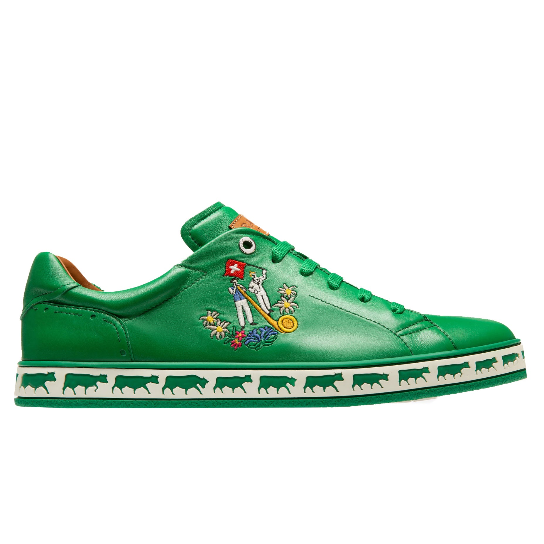 Bally Anistern Low Top Sneakers | Dark Emerald
