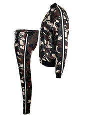 KASH Camouflage Track Pants | Green