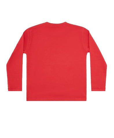Boys L/S Striped Medusa (RED)