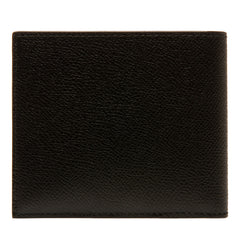Bally Men's Embossed Leather bifold wallet | Black