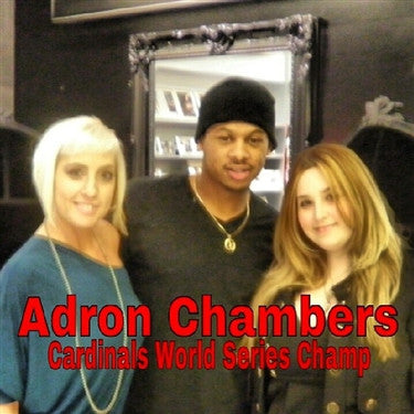 Adron Chambers, MLB St. Louis Cardinals World Series Champ