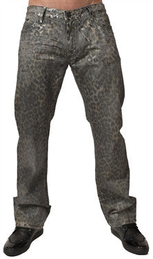 Robin's Jean In Safari Grey (Black Diamond Swarovski)