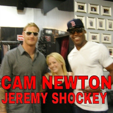 Cam Newton & Jeremy Shockey, NFL Charlotte Panthers