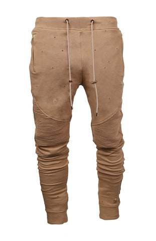 Bullet Hole Elongated Motorcycle Pant