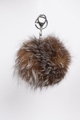Crystal Pom Pom Key Chain